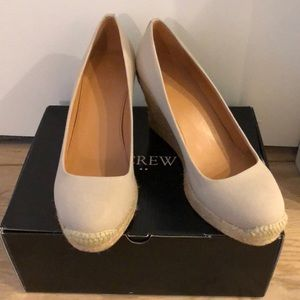 Shoes - New J. Crew Espadrilles Wedge size 7